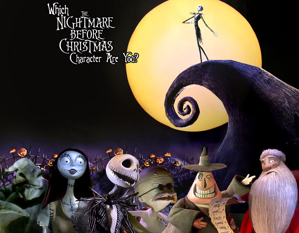 which nightmare before christmas character are you - Nightmare Before Christmas Pics