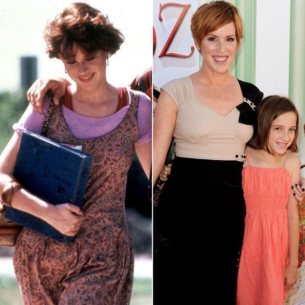 Molly ringwald sixteen candles outfit