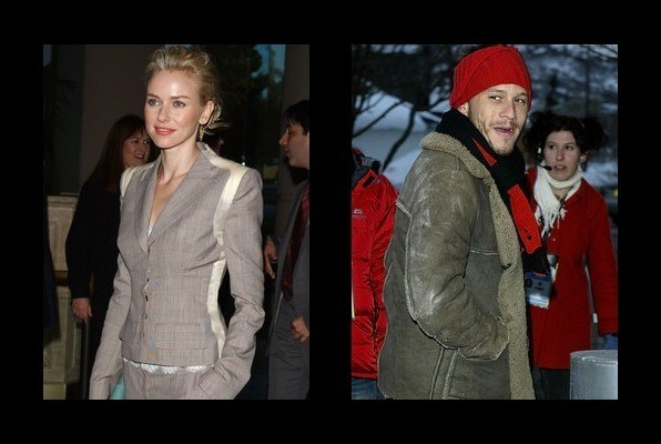 Naomi Watts dated Heat...