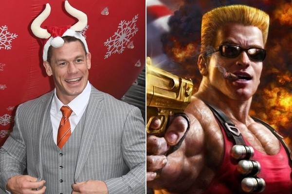 John Cena Is in Talks to Play Duke Nukem, So He Might Have to Beef Up for Once