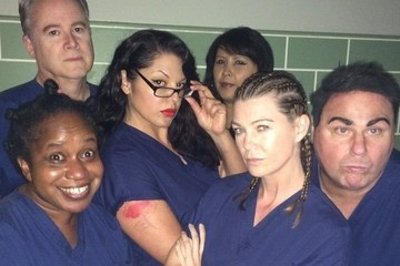 Ellen Pompeo Wins the Internet Today with 'OITNB'-Inspired Cast Photo