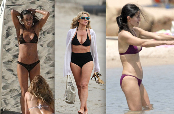 Celebrity Bikini Battle - Cougars