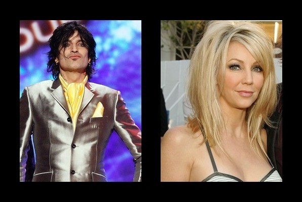 Tommy Lee was married to Heather Locklear