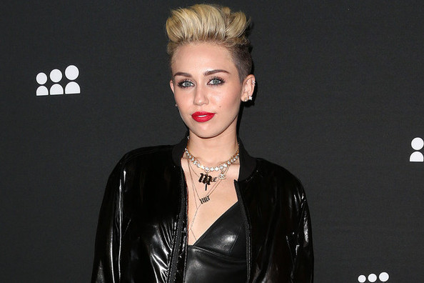 BEHOLD: Miley Cyrus' Sweatpants/Denim Frankentrousers