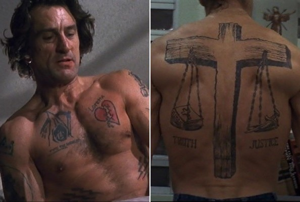 cape fear the best tattoos in movies zimbio