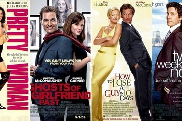 10 Love Lessons Gleaned from Rom-Com Movie Posters