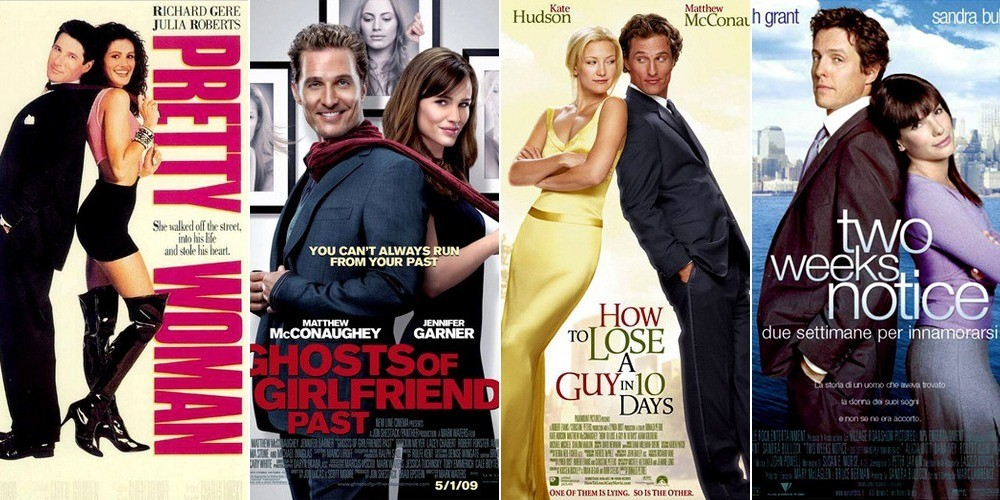 10 Love Lessons Gleaned from Rom-Com Movie Posters - For ...