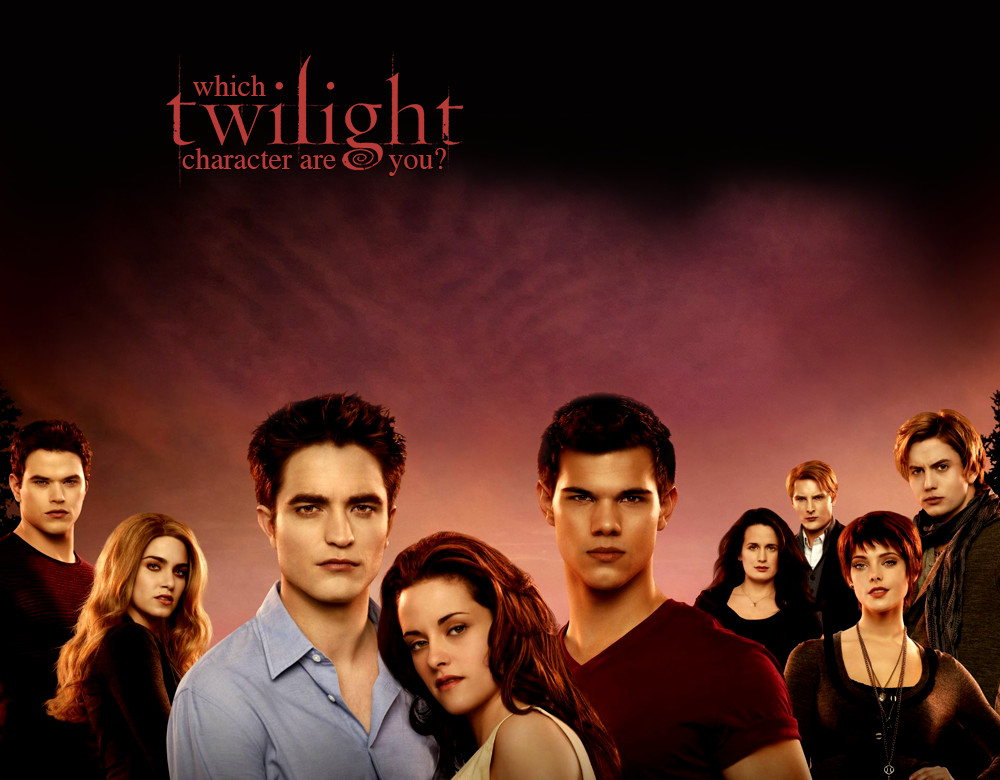 Which Twilight Character Are You Quiz Zimbio