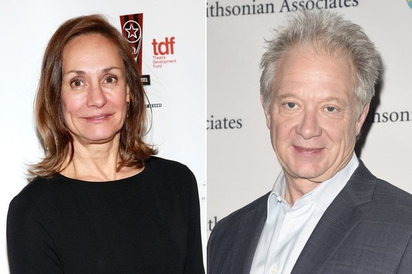 Laurie Metcalf and Jeff Perry