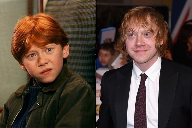 Rupert Grint (Ron Weasley) - Then and Now: The Cast of ... Rupert Grint Today
