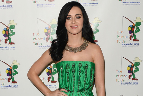 Katy Perry's Gorgeous Green Gown