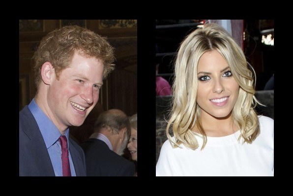 Who is prince harry dating in Perth