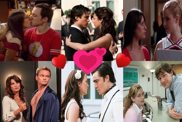 The 16 Hottest Tv Couples Zimbio