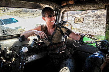 This Is What It's Like to Be Charlize Theron's Stunt Double on 'Mad Max: Fury Road'