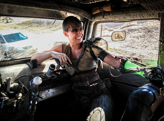 This Is What It's Like to Be Charlize Theron's Stunt Double for 'Mad Max'