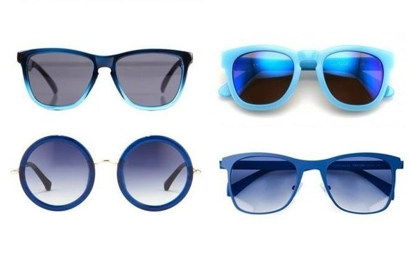 Big Spring Trend: Blue Sunglasses