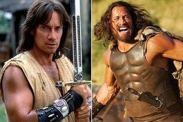 We Asked Kevin Sorbo What He Thinks of The Rock's Hercules