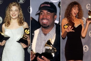 See What '90s Grammy Winners Look Like Now
