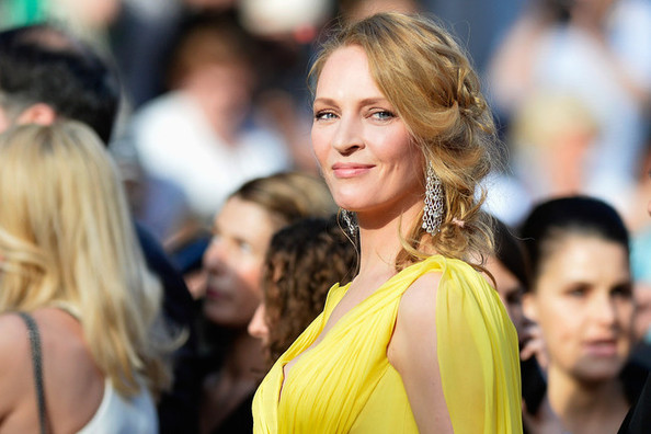 Hair Envy of the Day: Uma Thurman's Whimsical Wave Braid