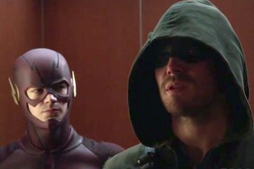Arrow and Flash Duke It Out in CW's Latest Fight Club Promo