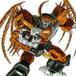 Unicron, the giant planet-devouring Transformer