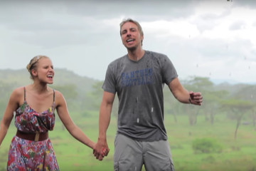Kristen Bell and Dax Shepard Frolic the Fields of 'Africa,' Pay Tribute to Band Toto