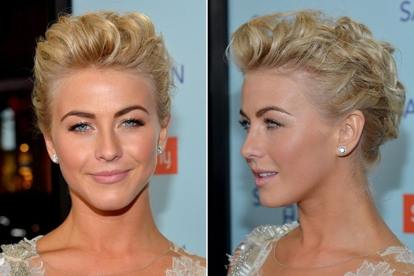 Date Night Makeup Idea: Julianne Hough's Rose Gold Eyeshadow