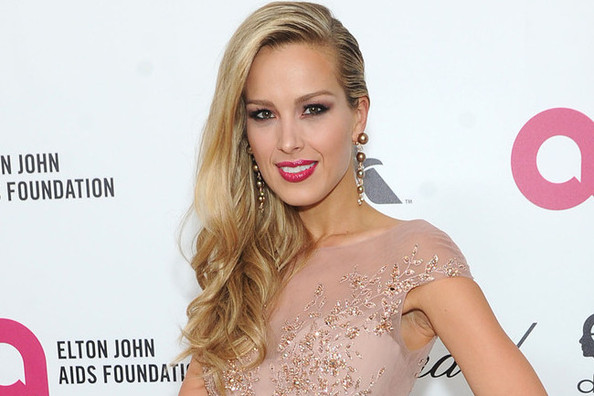 Petra Nemcova's Sparkly, Skin-Toned Gown