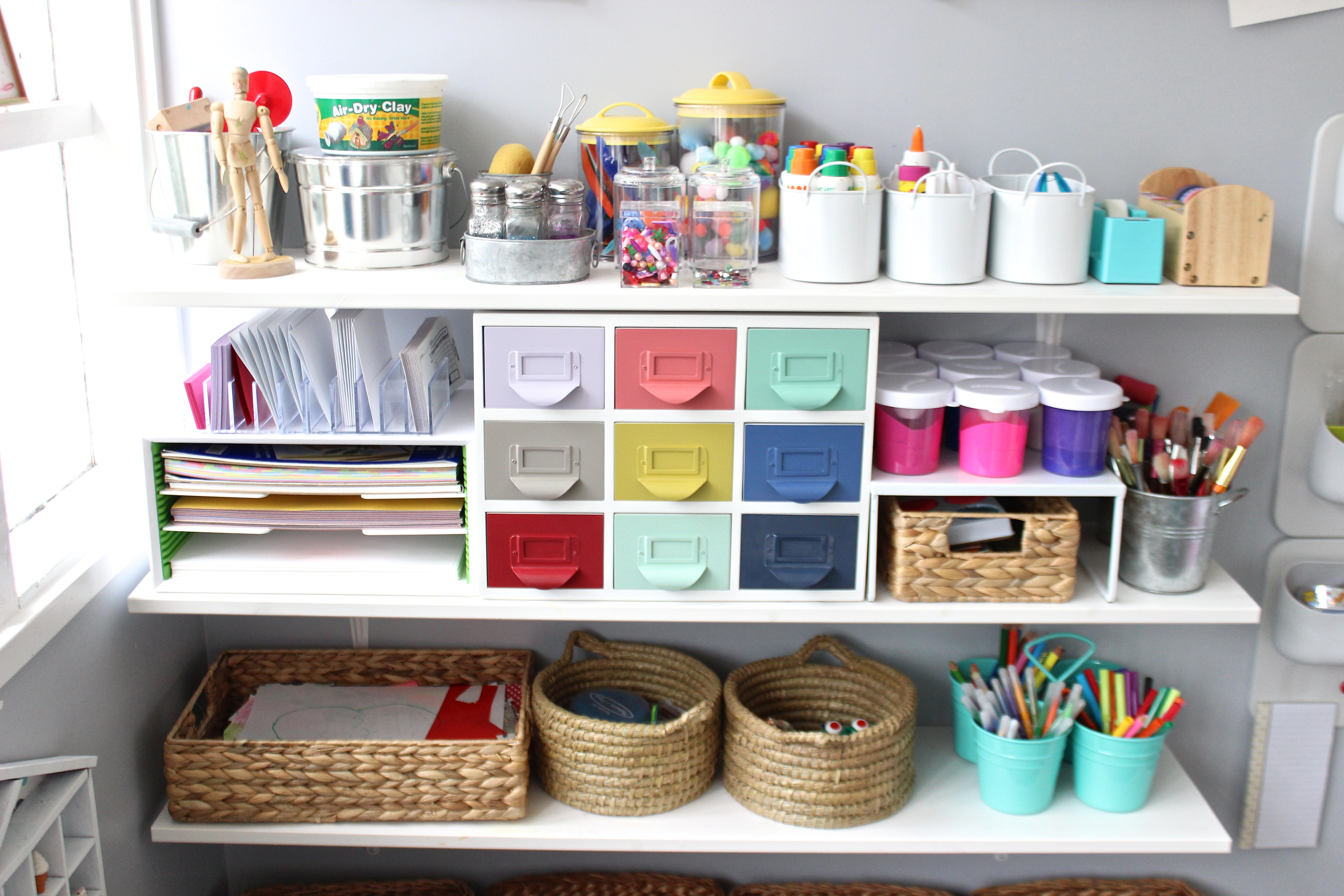 Home Art Studio Furniture 10 Tips On How To Create A Fun Yet Stylish Art Space For Kids