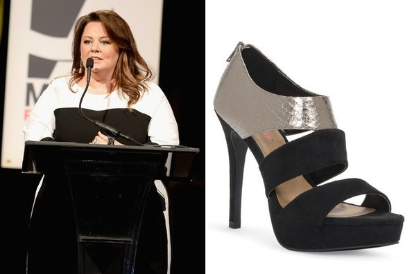 Daily Deal: Melissa McCarthy's Strappy Heels from JustFab