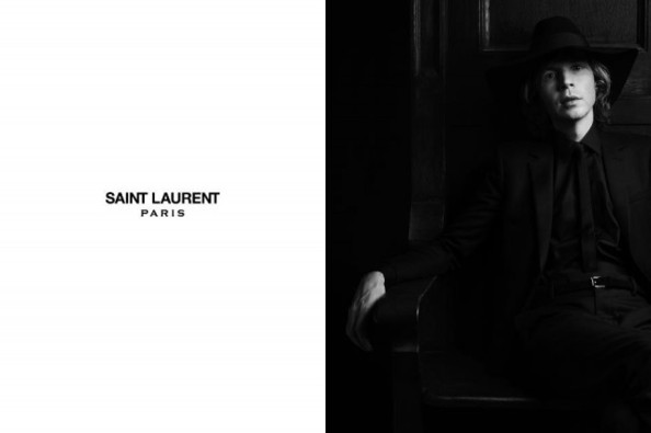 Beck Fronts Saint Laurent's Campaign, Still Looks Like He Did in 1996