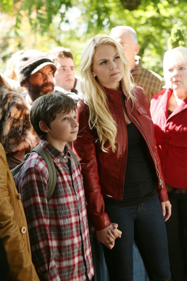 Emma & Henry - 'Once Upon a Time' Season 2 First Photos ...