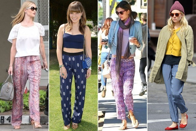 The Silky-Slouchy-Cozy Pant Trend