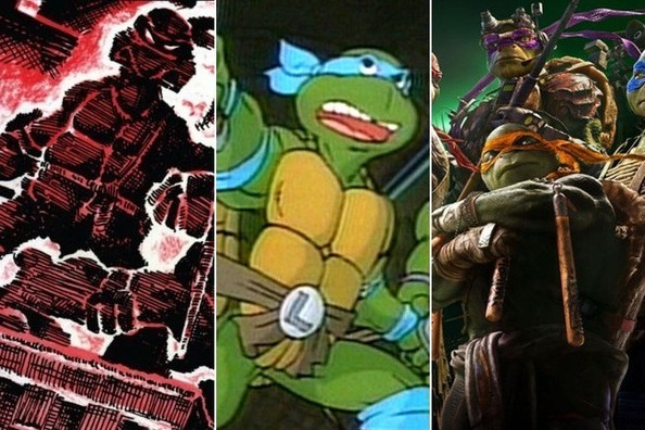 'Teenage Mutant Ninja Turtles' Through the Years