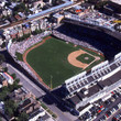 Wrigley Field in downtown Chicago
