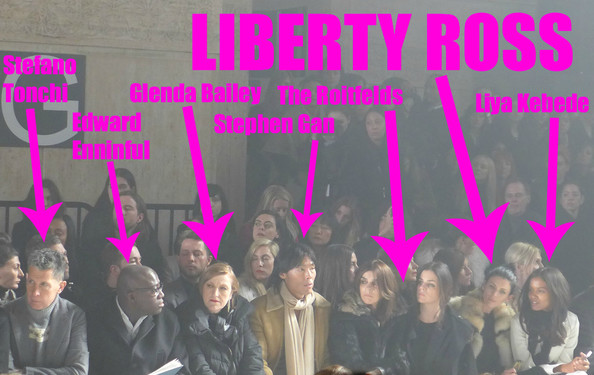 Liberty Ross Didn't Walk in Alexander Wang's Show—She Sat Front Row! (+ BONUS Seating Chart-ish)