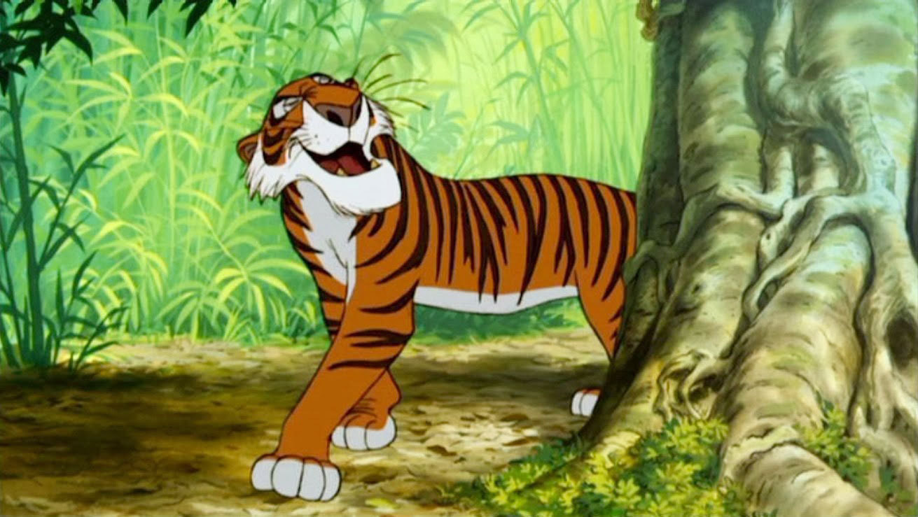 list of synonyms and antonyms of the word: jungle book characters