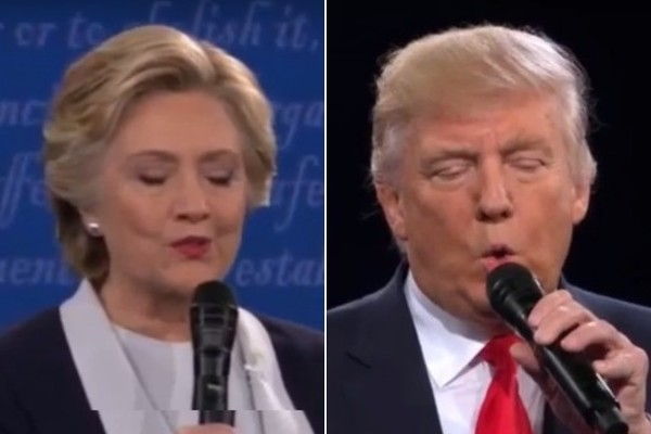 Someone Edited Clinton and Trump's Debate So They'd Have the Time of Their Lives