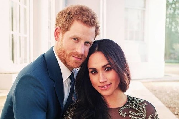 Prince Harry and Meghan Markle unveil intimate portraits ahead of royal wedding