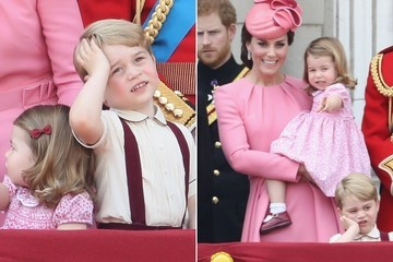 Prince George, 3, Is Kind of Over It