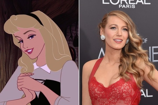 blake lively as aurora from sleeping beauty imagining
