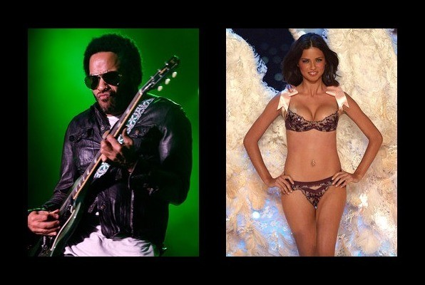 Lenny Kravitz was engaged to Adriana Lima