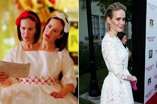 sarah paulson see what the cast of american horror