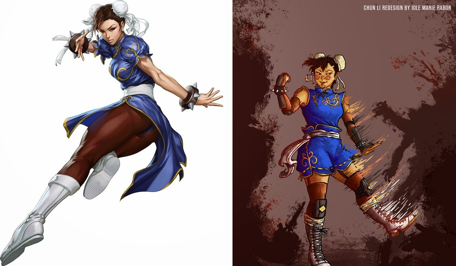 street fighter characters female