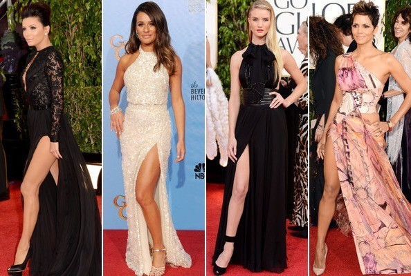 Leg of the Year: Who Did the Angelina Jolie Pose Best?