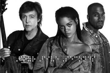 Rihanna Releases New Music with Kanye West and Paul McCartney