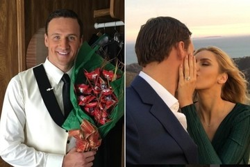 Olympic Swimmer Ryan Lochte and Girlfriend Kayla Rae Reid Are Engaged