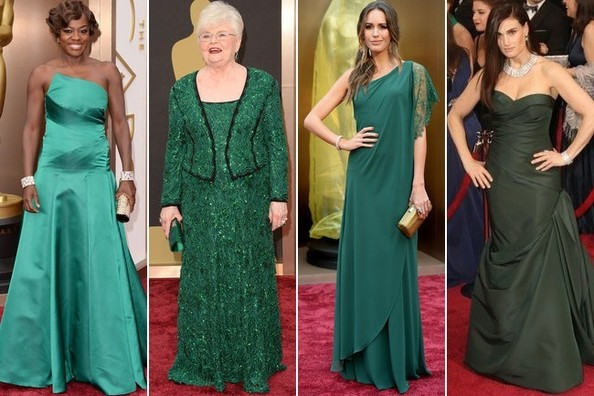 Red Carpet Trend: Emerald Green Gowns