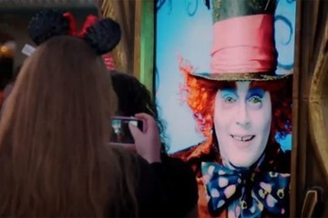 Johnny Depp's Surprise Visit to Disneyland as the Mad Hatter Is Absolutely Magical