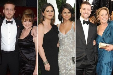 Stars Who Brought Their Moms to the Oscars
